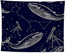 WSJIJY Tapestry Wall Hangings Starry Sky Print