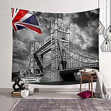 WSJIJY Tapestry Wall Hangings Uk Street Print