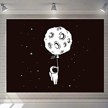 WSJIJY Tapestry Wall Hangings,Universe Moon