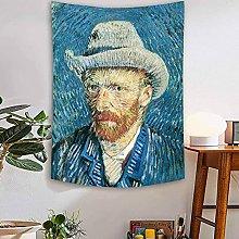 WSJIJY Tapestry Wall Hangings Van Gogh Print
