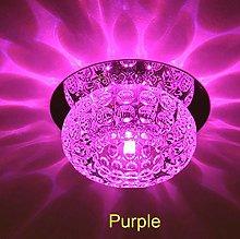 WSJQWHW 3W Modern Crystal Ceiling Lights