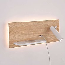 WSJQWHW Bedroom Phone Wireless Charger Shelf Wall