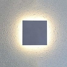 WSJQWHW LED Outdoor Waterproof Wall Light Square