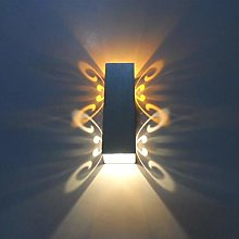 WSJQWHW Modern LED Wall Lamp Bedroom Bedside Lamp