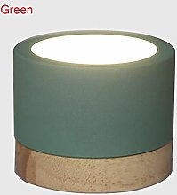 WSJQWHW Wooden Led Ceiling Lamp Home Decor