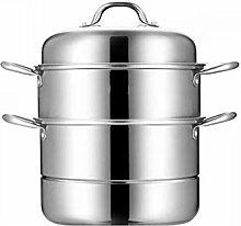 WSJTT Stackable Steamer Insert Pans Pot In Pot for