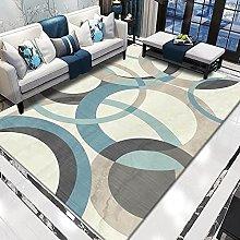WSKMHK Area Rug For Living Room - Modern Abstract