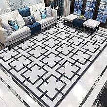 WSKMHK Area Rug For Living Room - Modern Square