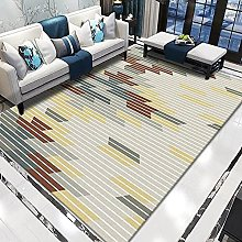 WSKMHK Area Rug For Living Room - Modern Yellow