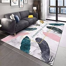 WSKMHK Area Rug For Living Room - Simple Colored