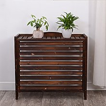 WSSF- Anti-corrosion Carbonized Wooden Flower Rack