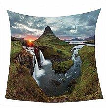WSSHUIYI Flannel Fleece Throw Blankets Canyon