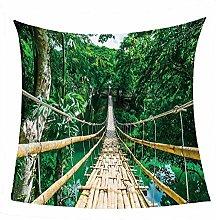 WSSHUIYI Flannel Fleece Throw Blankets Forest