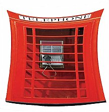 WSSHUIYI Flannel Fleece Throw Blankets Red phone