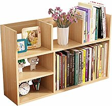 Wstomys Bookshelf and Bookcase Book Storage