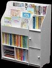 Wstomys Bookshelf Magazine Cabinet Nordic