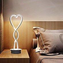 Wstomys Nordic Bedside Lamp Warm Romantic Bedroom
