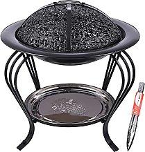 WSY Barbecue Oven Portable Charcoal Brazier BBQ