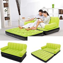 WSZMD Double Inflatable Sofa Bed Home Outdoor Lazy