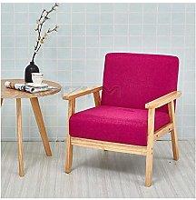 WSZMD Lounger Sofa Single Balcony Bedroom Chair