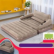 WSZMD Outdoor Household Inflatable Sofa Bed Double