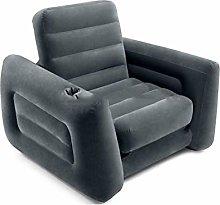 WSZMD Single Inflatable Flocking Sofa Leisure Sofa