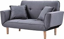 WSZMD Sofa Bed Modern And Simple Gray Sofa Linen