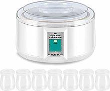 WT-DDJJK Yogurt Maker, Electric 1.5L Yogurt Maker