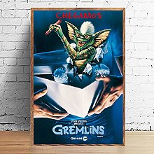 wtnhz Classic horror movie poster print canvas