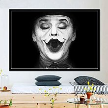 wtnhz Clown portrait anime poster and print wall