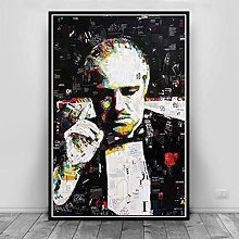 wtnhz Godfather character poster print oil