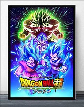 wtnhz Japanese anime movie poster wall art