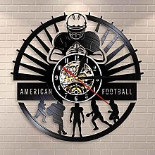 wtnhz LED-American football wall clock sports