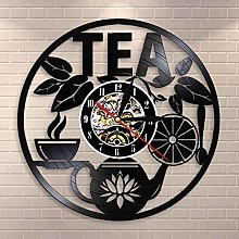 wtnhz LED-Tea time wall hanging decoration teapot
