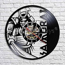 wtnhz LED-Unique gift of vinyl wall clock