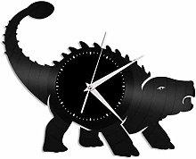 WTTA Ankylosaurus vinyl wall clock unique gift