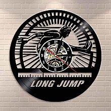 WTTA LED clock with LED modern German long jump