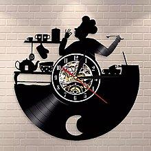 WTTA lp vinyl record vintage kitchen wall