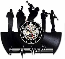 WTTA Vinyl wall clock for jazz lovers-wall