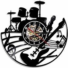 WTTA Vinyl wall clock-wall clock for music