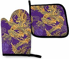 wu Pot Holders Sets Oven Mitts and Pot Holders