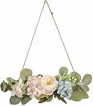 wuayi Welcome Spring Flower Hanger, Front Door