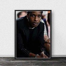 WuChao丶Store Asap Rocky Print Poster Rapper
