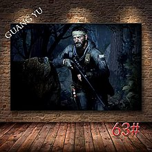 WuChao丶Store Call Of Duty Canvas Wall Art Poster