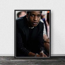 WuChao丶Store Canvas Painting Asap Rocky Print