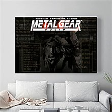 WuChao丶Store Metal Gear Solid Mgs Video Game