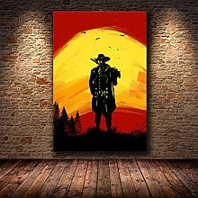 WuChao丶Store Red Dead Redemption 2 Game Poster