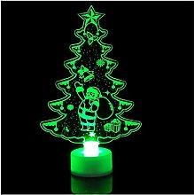 Wufansshop Colorful Christmas Tree Led Night