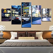 WUHUAGUO Building Wall Art For Living Room Poster