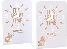 WUJNFAJFA Set of cute giraffe and clock series